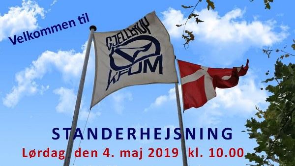 Gjellerup KFUM Standerhejsning 2019