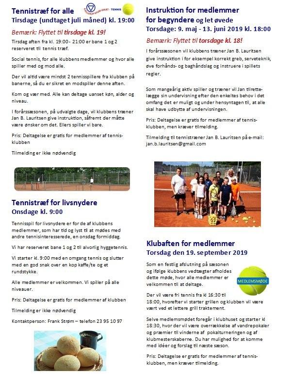 Gjellerup KFUM Idræt tennis 2019-venstre